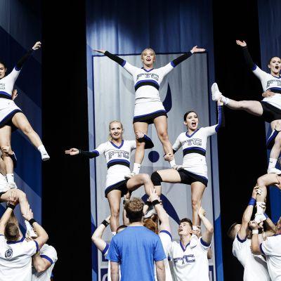 Gorillaz Suomesta esiintyi Cheerleadingin Euroopan mestaruuskilpailuissa Helsingissä