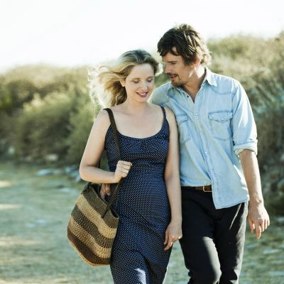 Bild från filmen Before Midnight (Ethan Hawke, Julie Delpy)