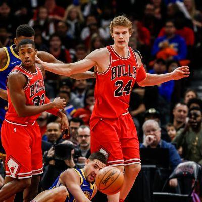 Kris Dunn ja Lauri Markkanen, Chicago Bulls