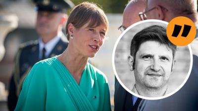 Estlands förra president Kersti Kaljulaid.