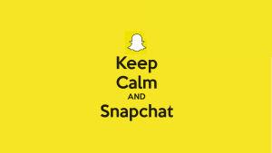 Snapchat-bild (gjord av Claudia Rybin/X3M)