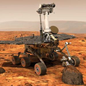 Nasan MER-kulkija Marsissa vuonna 2004.