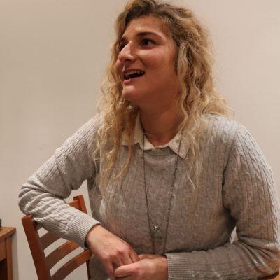 Teufika Bećirović kotonaan Brysselissä.