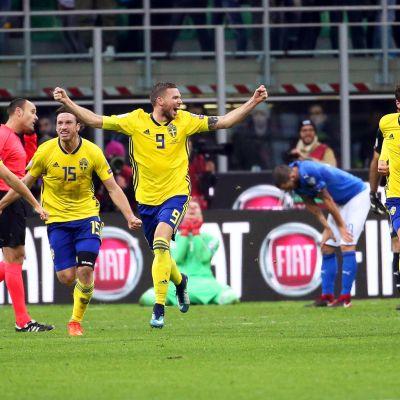 Ruotsi juhlii, Italia on pettynyt.
