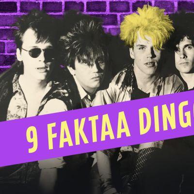 Kuvassa Dingo -yhtyeen jäsenet.