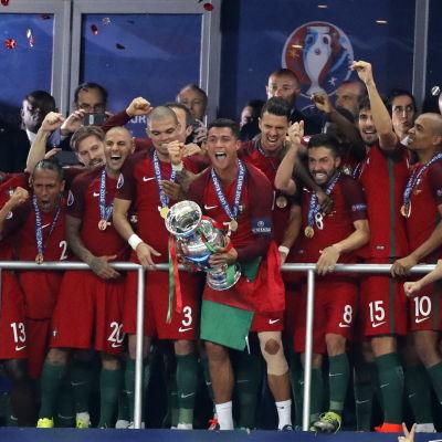 Portugal firar guld