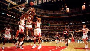 Chicago Bulls under NBA-säsongen 1996-97.