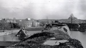 Arkivbild på kalkbrottet i Pargas.