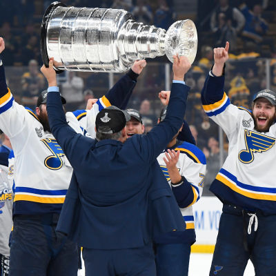 St. Louis Blues firar Stanley Cup 2019.
