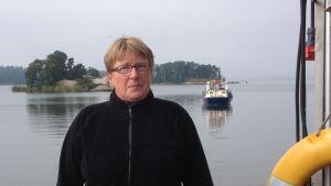 Ritva Wallén, ordförande för skärgårdsdelegationen i Sibbo