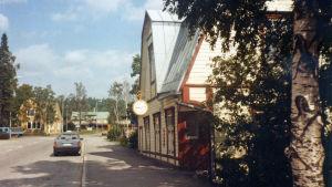 Oksanens klockaffär vid Stora Byvägen i Nickby.