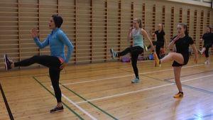 Gymnastiktimme i Ekenäs högstadieskola