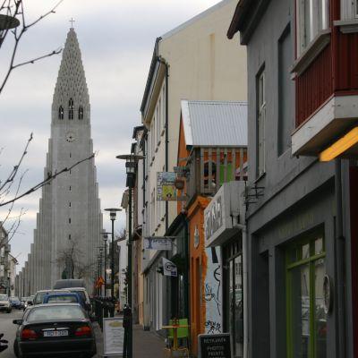 Hallgrímskirkja i Reykjavik