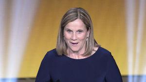 Jill Ellis, tränare för USA:s damlandslag.