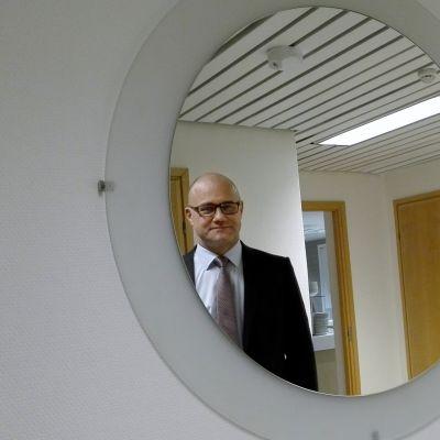 Suur-Savon Osuuspankin uusi toimitusjohtaja jari Himanen.