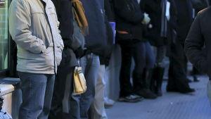 Arbetslösa i Spanien
