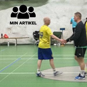 EIF herrar mötte Kyrkslätt IF i handbollens division 3.