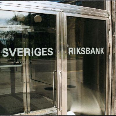 Sveriges Riksbanks entré