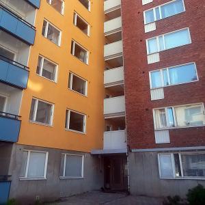 Husfasad i Åbo.