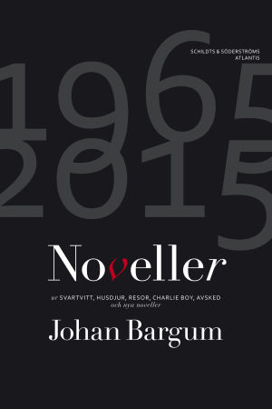 "Pärmen till Johan Bargums ""Noveller"""