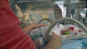 Antibiotika räddade baby.