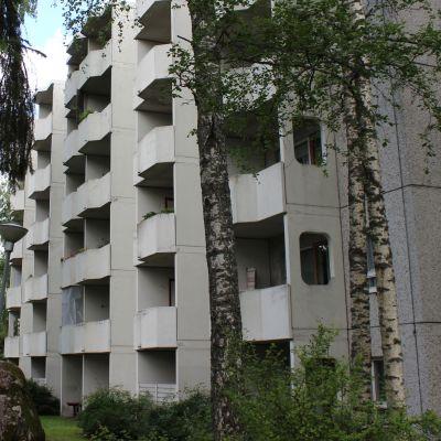 Kaupungin vuokratalo Lappeenrannan Sammonlahdessa