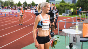Camilla Richardsson får åka till Qatar i september.