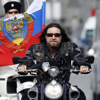 Det ryska mc-gänget Nattens vargars ledare Alexander Zaldostanov.