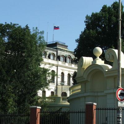 Rysslands ambassad i Prag.