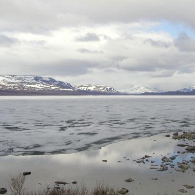 Kilpisjärvi på sommaren.