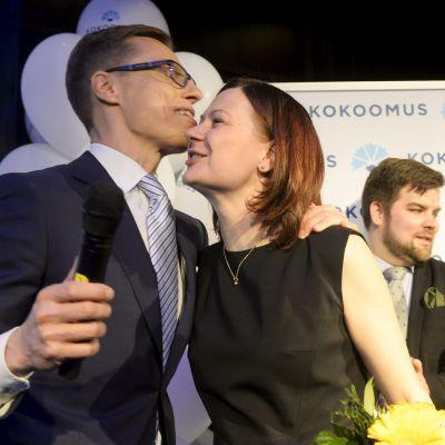 Alexander Stubb och Minna Arve
