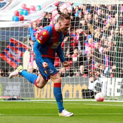 Connor Wickham avgjorde för Crystal Palace.