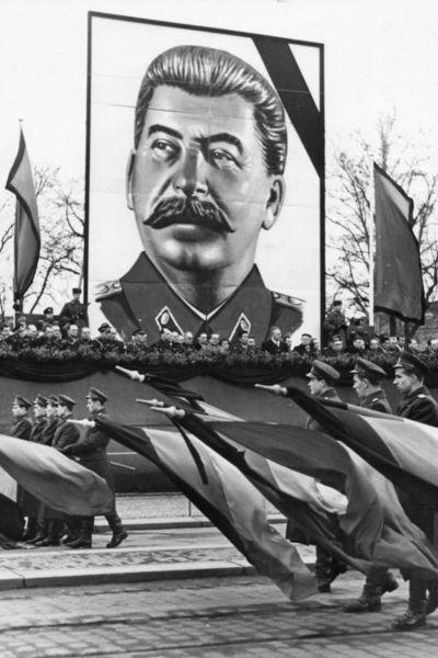 Stalinmarsch i Dresden 1953