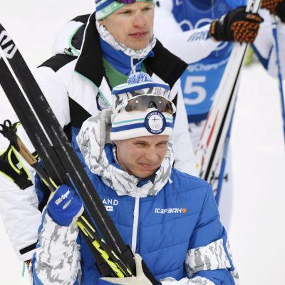 Matti Heikkinen ja Iivo Niskanen.