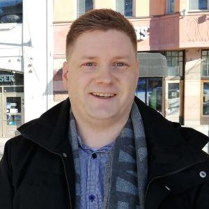 Kristoffer Jansson på VASEK.