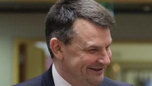 Justitieminister Tor Mikkel Wara tillhör det högerpopulistiska Fremskrittspartiet