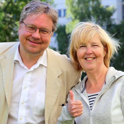 Stadin Kundi ja Friidu Pekka Sauri ja Leena Uotila