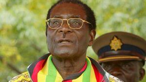 Zimbabwes president Robert Mugabe