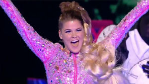 Saara Aalto under finalen av The X Factor 2016
