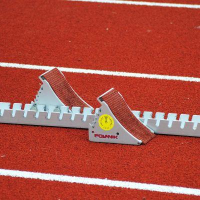 startblock för sprinterlöpare