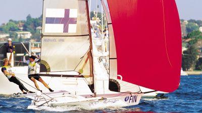 Finlandskt guld i segling