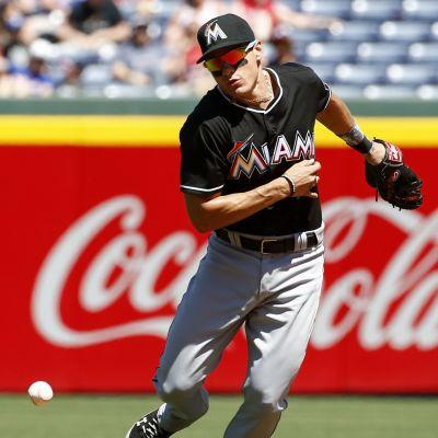 Miami Marlinsin Derek Dietrich.