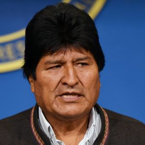 Bolivias president Evo Morales 9.10.2019