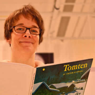 Katarina von Numers-Ekman är Svenskfinlands läsambassadör.