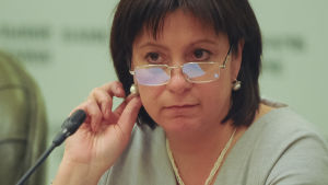 Ukrainas finansminister Natalia Yaresko