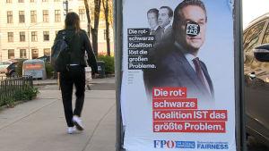 Osämjan mellan socialdemokraterna och folkpartiet ledde till förtida val i Österrike