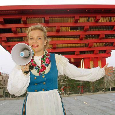 Minna Joenniemi ja Taloraati Shanghain maailmannäyttelyssä 2010