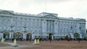 Buckingham palace år 1997.