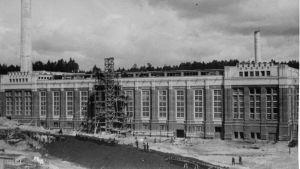 Den gamla cementfabriken i Pargas.