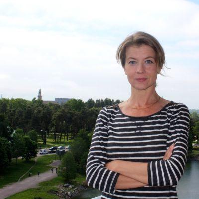 Jeanette Björkqvist är en av Vegas sommarpratare 2014